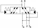 Гідророзподільники URJP10 з автоматичним перемиканням