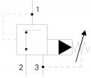 Картриджні редукційні клапани UZCS6