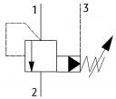 Картриджні клапани послідовності UZKS25