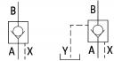 Гідрозамки односторонньої дії UZSB10