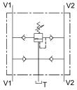 Двосторонні запобіжні клапани VAA / RU