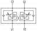 Тормозные клапаны двустороннего действия VBCD DE A CC