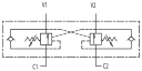 Тормозные клапаны двустороннего действия VBCD DE FL