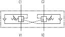 Гальмівні клапани двосторонньої дії VBCD DE