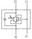 Гальмівні клапани однобічної дії VBCD SE CC