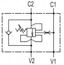Тормозные клапаны одностороннего действия VBCD SE FL CC