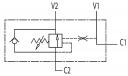Гальмівні клапани однобічної дії VBCD SE FL