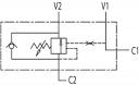 Гальмівні клапани однобічної дії VBCD SE FLV