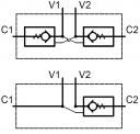Гідрозамки одно- і двосторонньої дії VBS і VBD
