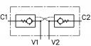 Гидрозамки двустороннего действия VBD-R-38