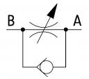 Дроселі VRFU зі зворотним клапаном