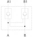 Гидрозамки одно- и двустороннего действия Z2S16